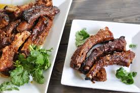 maple glazed slow cooker ribs suburble