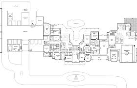 modern house plans beautiful one story mansion floor plan