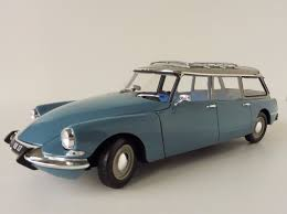 vintage citroen ds citroen id 19 break 1 18 norev 181591 monte carlo blue id19 ds