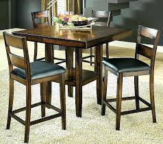 high top round kitchen table high top dining room table painting my table like this extending