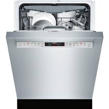 bosch 800 series 24 in recessed handle dishwasher dishwashers