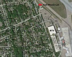 Cell Phone Tower Map Parking At Burlington International Airport