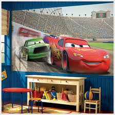 Disneys Cars Wall Murals Extra Large Disneys Cars Movie Wall - Disney wall decals for kids rooms