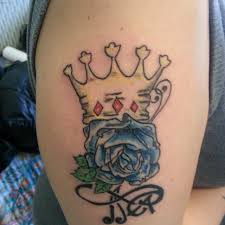 crown tattoos fit for a king or queen like you