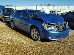 2008 blue dodge avenger wrecked 2008 dodge avenger sx for sale in ab nisku lot 28251326
