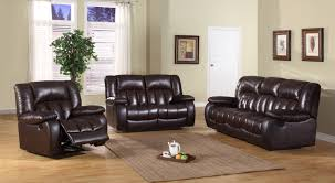 White Leather Recliner Sofa Set by Sofas Center Reclining Leather Sofa Sets Recliner Veneto Brown