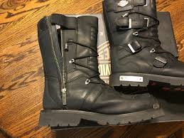 boots motorcycle riding harley davidson mens 10