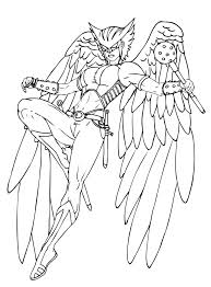 hawkgirl coloring pages hawkgirl coloring pages az coloring