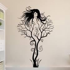 tree wall sticker diy woman home decorations wall