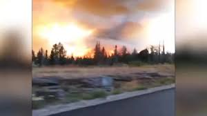 Wildfire Episode 5 by Caught On Camera Family Flees Wildfire Cnn Video