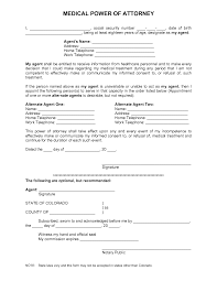 Sample Of Power Of Attorney Document by Best Photos Of Medical Power Of Attorney Form Template Free
