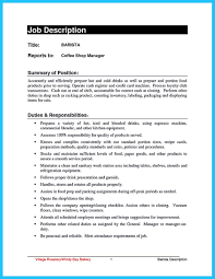 Starbucks Barista Job Description For Resume by Barista On Resume Free Resume Example And Writing Download