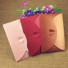 50pcs paper envelope colorful heart clasp envelopes retro kraft