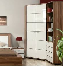 Cheap White Gloss Bedroom Furniture by Wardrobes Corner Wardrobe Closet Uk Contemporary Corner Wardrobe