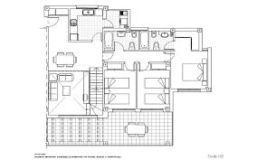 Split Level Floor Plan Split Level Penthouse Apartment With Views Sala Moyua Realty