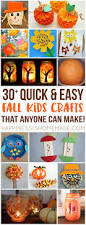 easy fall kids crafts that anyone can make autumn fall autumn