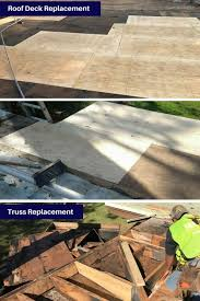 mixed material flat roof replacement and roof coating alliance group