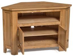 light wood corner tv stand waverly oak 2 door corner tv stand unit hallowood
