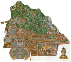 Apostolic Palace Floor Plan by Map Of Vatican City