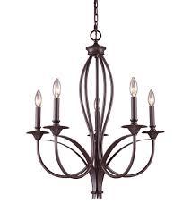 5 light bronze chandelier elk 61032 5 medford 5 light 26 inch oiled bronze chandelier ceiling
