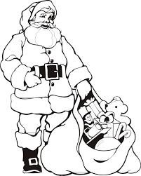 santa printable coloring pages christmas teen christmas