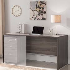Stylish Computer Desks Brown Smooth Surface Stylish Desk Free Shipping Today