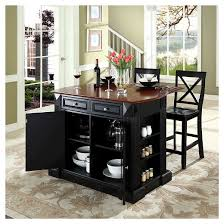 kitchen island with bar top drop leaf breakfast bar top kitchen island black with 24 black