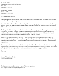 Business Letter Generic Recipient Standard Business Letter Format Letter Pinterest Business
