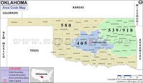 okc zip code map oklahoma area codes map of oklahoma area codes
