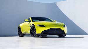 lime green aston martin aston martin shows off a new vantage the verge
