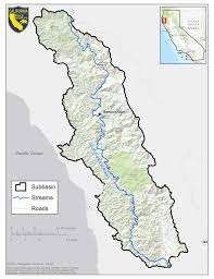 Los Angeles River Map by South Fork Eel River Watershed Studies Humboldt And Mendocino