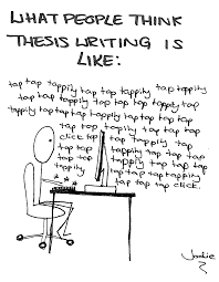 a thesis in writing A thesis in writing