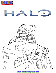 halo 5 video game coloring u0026 coloring pages
