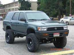 toyota 4runner lifted 1993 toyota 4runner information and photos zombiedrive
