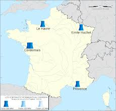 Road Map Of France by File Coal Power Plants In France Map Fr 2016 Svg Wikimedia Commons
