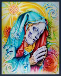 santa muerte juan salgado art tattoo tattoomagz