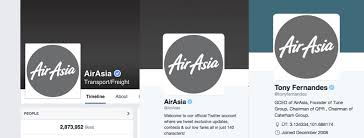 airasia logo airasia changes company s logo to grey on social media after flight