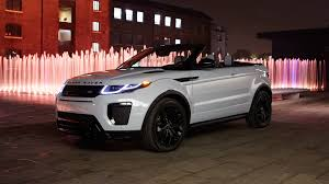 land rover convertible new range rover evoque convertible signals a new dawn for luxury suvs