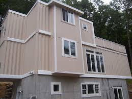 large modern conex box house design with great design of the