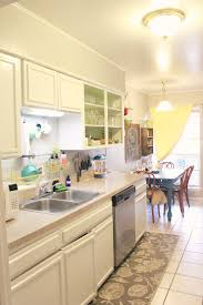 our yellow and gray kitchen our cone zone
