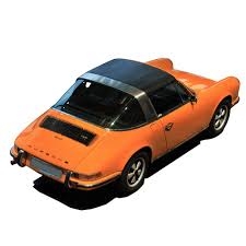 orange porsche 911 convertible porsche targa replacement top 67 94 in black levant grain vinyl