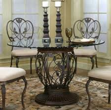 Rod Iron Dining Room Set Coffee Table Small Glass Kitchen Table Glass Dining Table