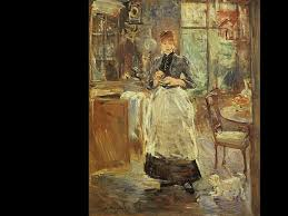 Best Art History Th Century Women Artists Images On - Berthe morisot in the dining room