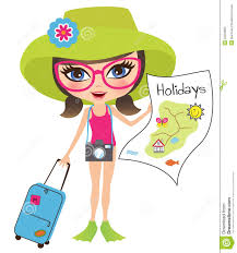 travel clipart images Girl traveling stock vector illustration of cute colorful 20302693 jpg