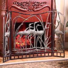 inspiring fireplace screens ideas u2014 luxury homes