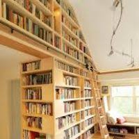 Ceiling Bookshelves by Floor To Ceiling Bookcase With Ladder Thesecretconsul Com