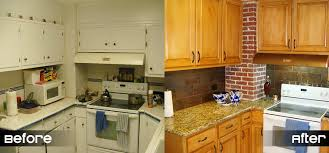 Bathroom Cabinet Refacing Before And After by Kitchen Cabinet Refacing Can Create Nice Look For The Cabinet