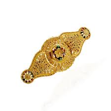 collections flower designs gold hair clip grt jewellers