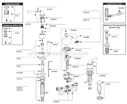 pegasus kitchen faucet replacement parts moen faucet aerator diagram moen ca87888 parts list and diagram