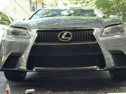 lexus is350 f sport nebula grey 2013 2014 2015 lexus gs 350 f sport bumper fascia blackout decal